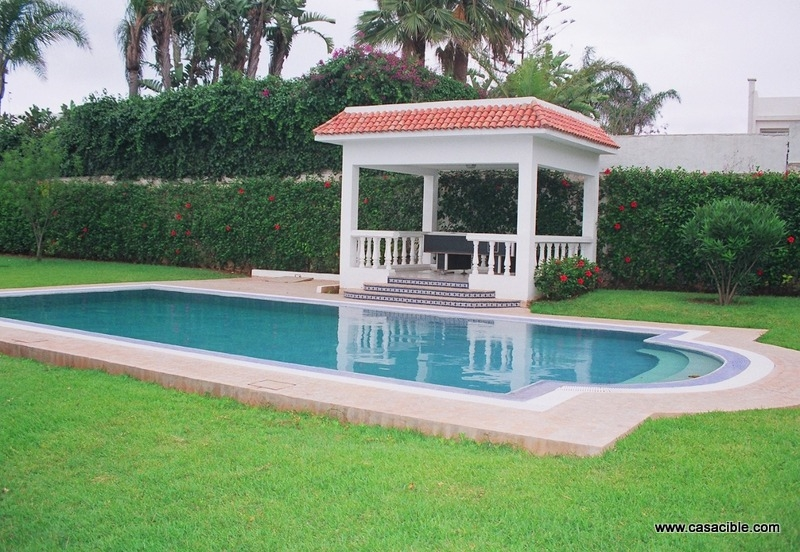 Location Villas - Immobilier Casablanca - Location Villa Casablanca